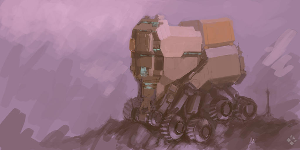 Crawler Speedpaint by MikeDoscher