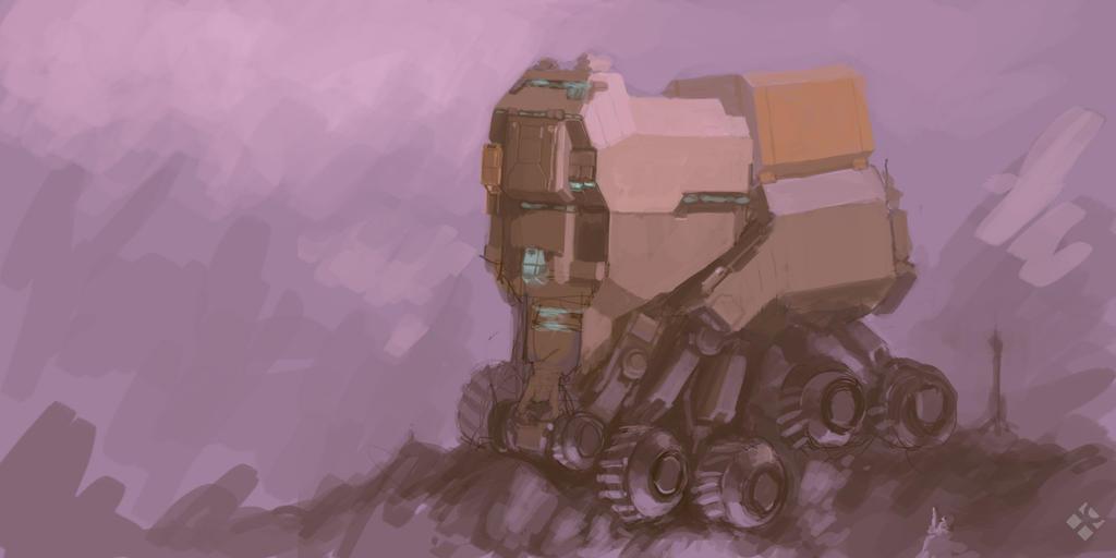 Crawler Speedpaint by MikeDoscher