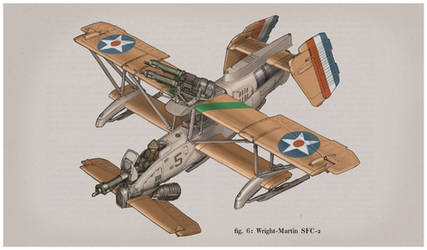Wright-Martin SFC-2 Color Plate by MikeDoscher