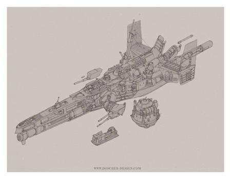 Gunboat Cutaway