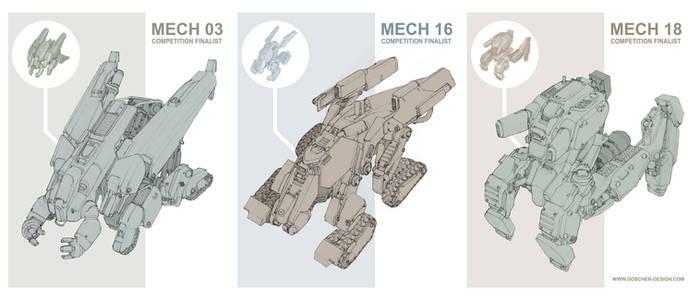 Mech Concept Finalists
