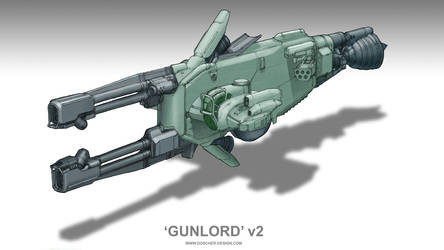 'Gunlord' Weapons Carrier v2 by MikeDoscher