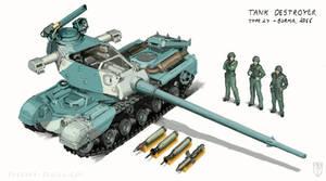 Type 27 Tank Destroyer