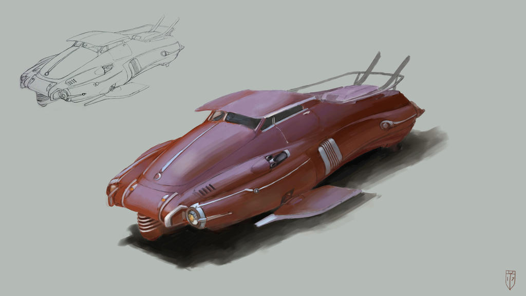 600v 243 10 hovercar by mikedoscher