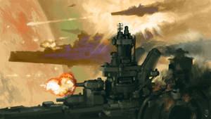 The Bombardment of Mars by MikeDoscher