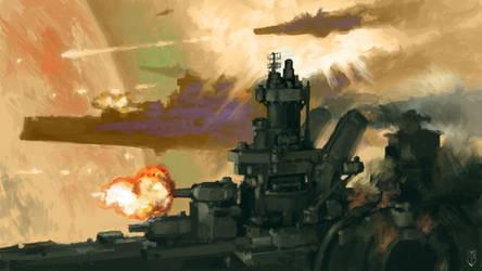 The Bombardment of Mars