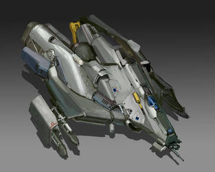 'Tick' Dropship by MikeDoscher