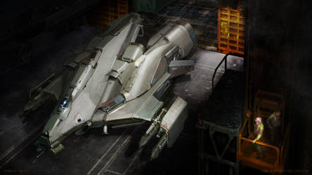 Hangar Bay by MikeDoscher