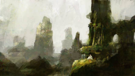 Spring in the Ruins