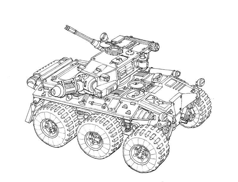 6x6 armored car concept - photo #34
