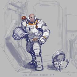 Old Astronaut