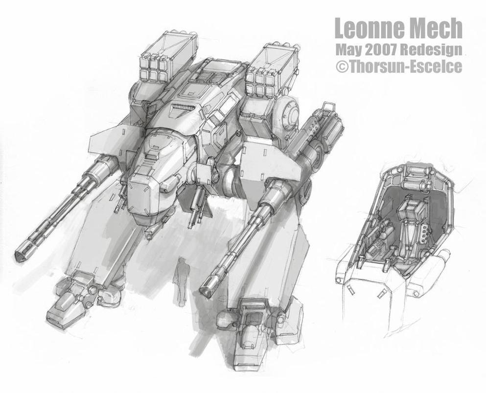 Leonne Mech by MikeDoscher
