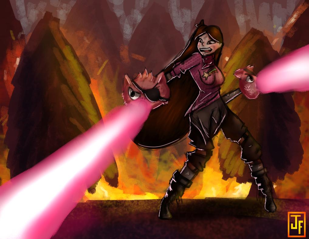 Mabel: Hero of Wierdmagedon by fuzzylilly2