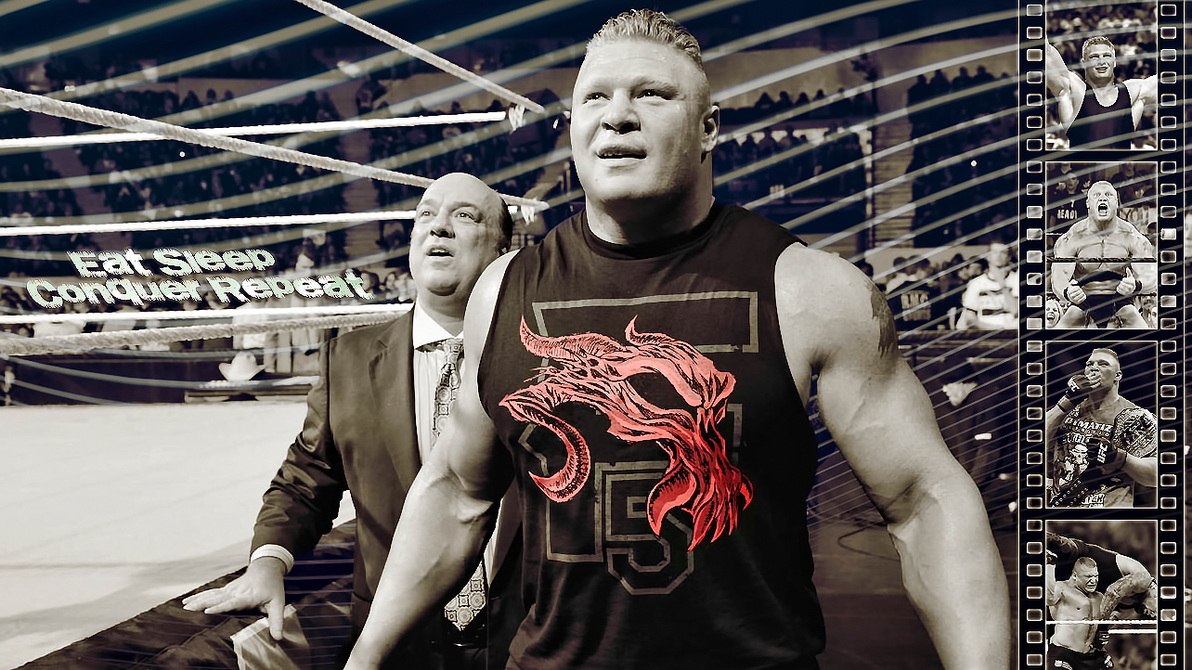 Brock Lesnar By JokerxAx316