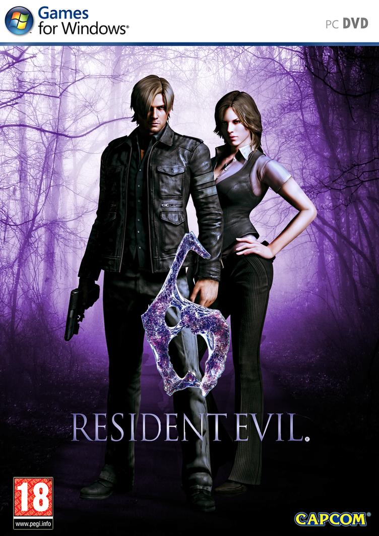 Resident Evil 6 pc dvd-ის სურათის შედეგი