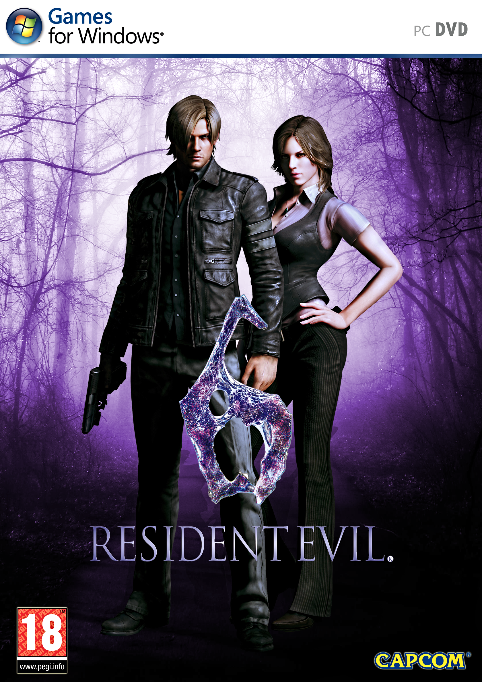 Image result for Resident Evil 6 cover pc