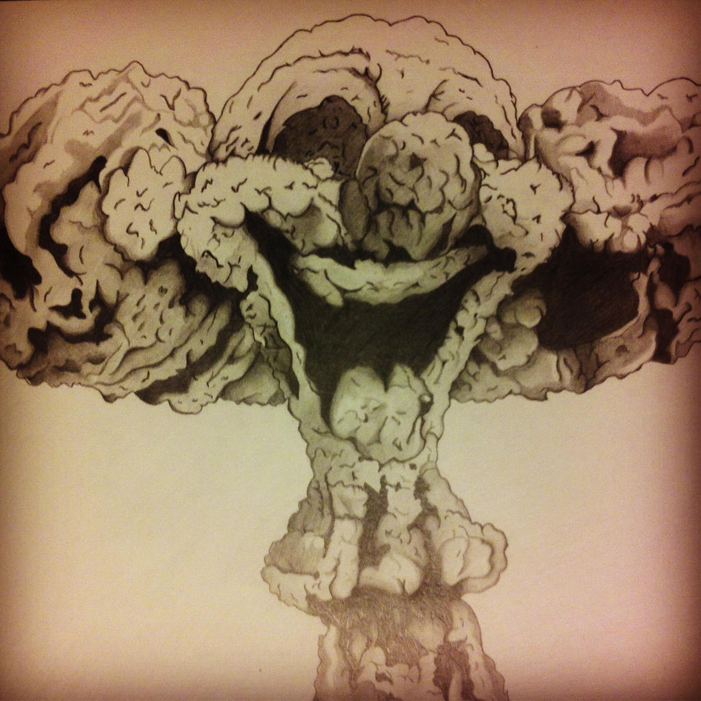 Clown Mushroom Cloud by AleexArrt on DeviantArt