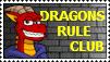 Dragonsrule Club stamp by Ross-Sanger