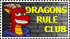 Dragonsrule Club stamp by Ross-Sanger