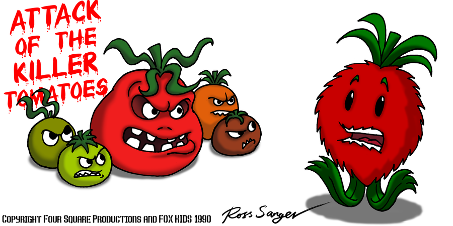 Attack of the Killer Tomatoes by Ross-Sanger