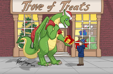 A Dragon's Gift by Ross-Sanger