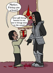 Klingon Mothers Day by Ross-Sanger