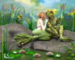 Frog Prince and His Bride