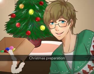 [CE] Christmas Selfie : Itsuki by Ryzzie
