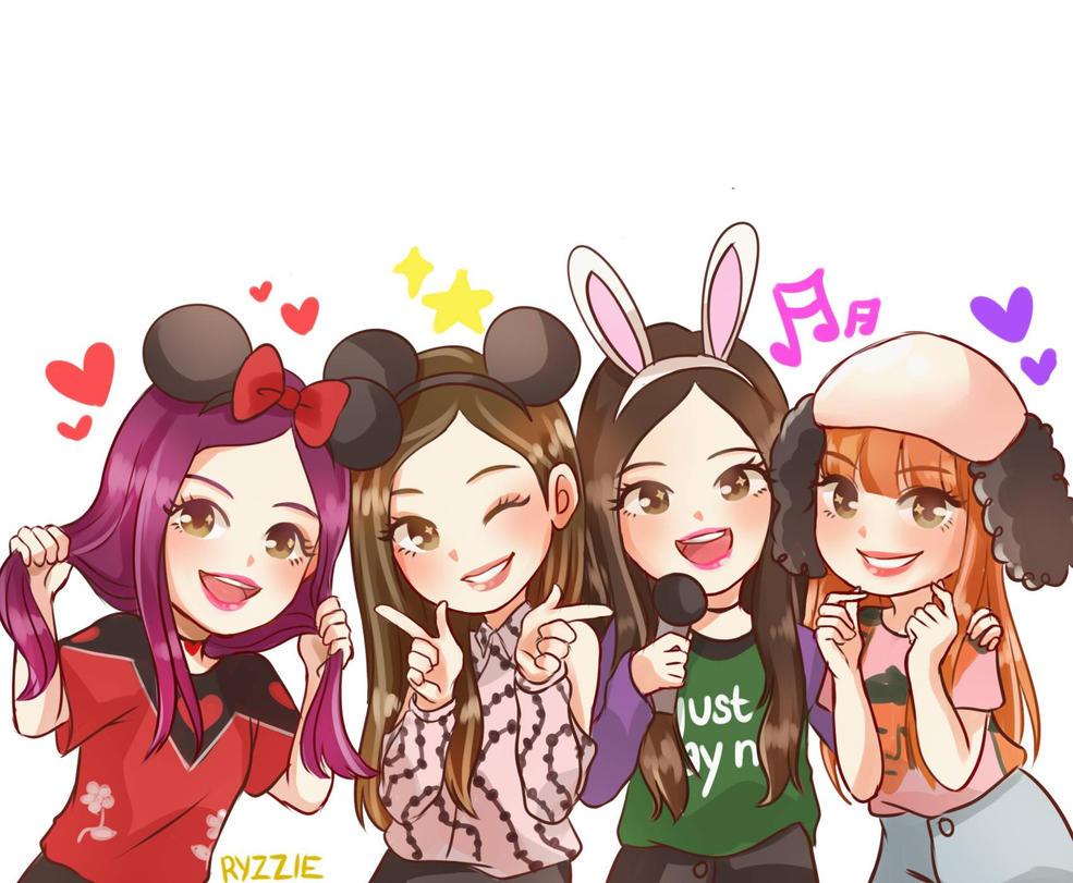 17 Black Pink Wallpaper Anime Orochi Wallpaper