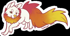 Sticker: The Giant Wheel puppy