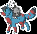 COM: Ride me into battle sticker