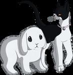 Kitty and Bunny