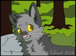 Dorky Gray Cat