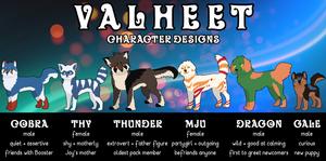 Valheet Characters