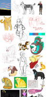 [COMPILATION] 2016 scetches etc. by SobiMoppi