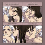 cute kiss meme