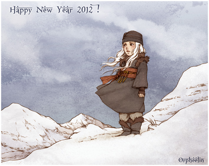 Happy new year by Orpheelin