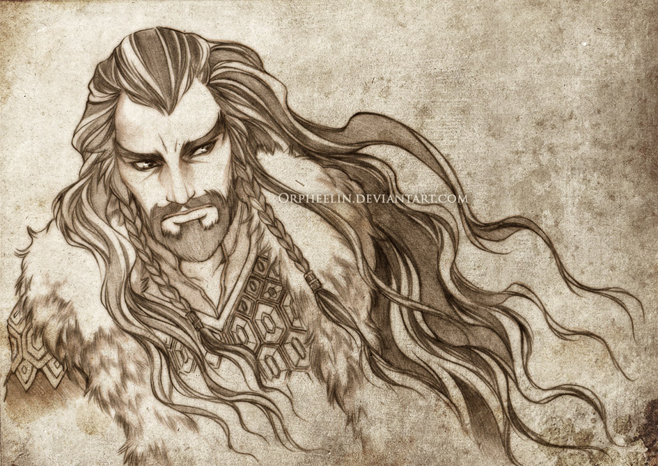 Thorin Oakenshield by Orpheelin