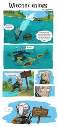 Witcher things FR by Orpheelin