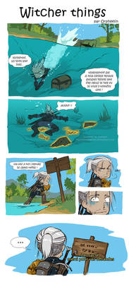 Witcher things FR