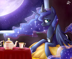 Princess Luna by IFtheMaineCoon