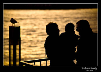 Golden family by Frall