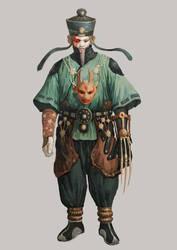 the master of yin-yang by Hanjianhao