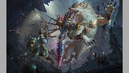 wolf knight by Hanjianhao