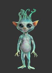 concept design for the movie crazy alien