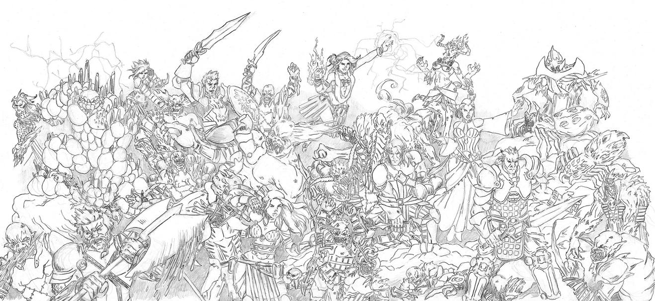 Dragon Age Origins by Num1XMN