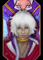 The Arcana - Asra by Little1Moon