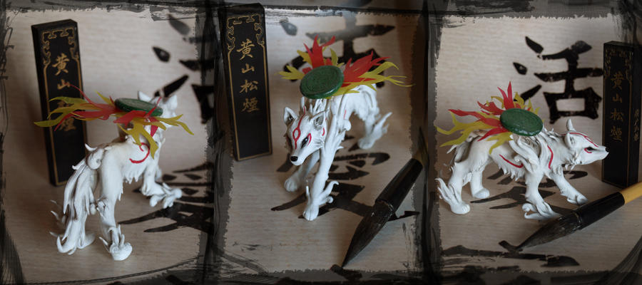 Amaterasu Sculture by Z-N-K