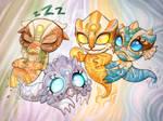 Pandaren Elemental Spirits