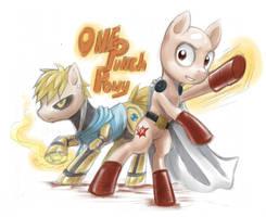One Punch Pony! by Z-N-K